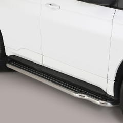 Pair of Stainless Steel 50mm Running Board Side Steps Ford Edge (2016 Onwards)
