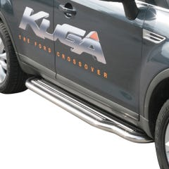 Pair of Stainless Steel 50mm Running Board Side Steps Ford Kuga Mk1 (2008 - 2013)