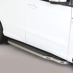 Pair of Stainless Steel 50mm Running Board Side Steps Ford Kuga Mk3 (2017 Onwards)