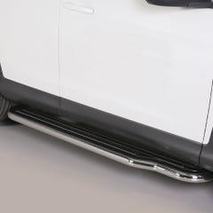 Pair of Stainless Steel 50mm Running Board Side Steps Honda CR-V Mk6 (2012 Onwards)