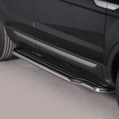Pair of Side Steps with Bars 50mm SS Mach Range Rover Evoque Mk1 (11 on)
