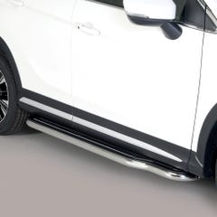 Pair of Stainless Steel 50mm Running Board Side Steps Mitsubishi Eclipse (2018 Onwards)