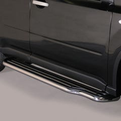 Pair of Side Steps with Bars 50mm SS Mach for Nissan X-Trail  Mk4 (11-14)