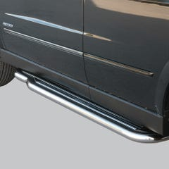 Pair of Stainless Steel 50mm Running Board Side Steps SsangYong Actyon Mk1 (2007 Onwards)