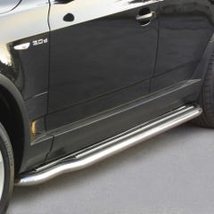 Pair of Stainless Steel 50mm Running Board Side Steps BMW X3 Mk1 (2004 Onwards)