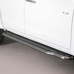 Pair of Stainless Steel 50mm Running Board Side Steps Isuzu D-Max Mk4-5 (2012 - 2020)