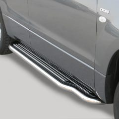 Side Steps with Bars 50mm SS Mach Grand Vitara Mk3 5 Door (05-09)