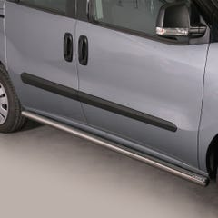 Side Bars 63mm Stainless Mach for Fiat Doblo Mk3 (10-15)