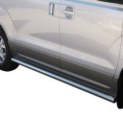 Side Bars 63mm Stainless Mach for Hyundai H1 (08 on)