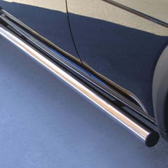 Side Bars 63mm Stainless Mach for Land Rover Freelander Mk2 (00-04)