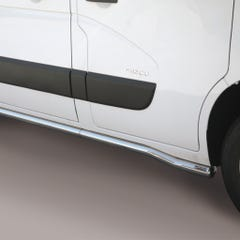 Side Bars 63mm Stainless Mach for Renault Master (10 on)
