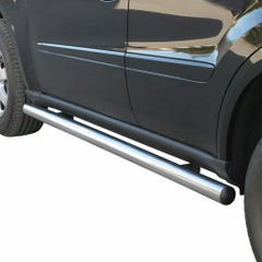 Pair of Stainless Steel 76mm Side Bars M-Class Mk3 (2005 - 2011)