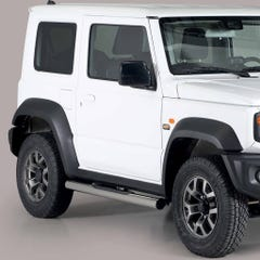 Suzuki Jimny Mk5  (2019 on) Pair of Side Bars with Steps 76mm SS Mach