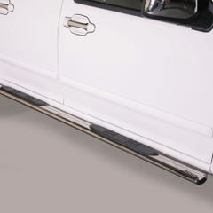 Oval Tube Side Bars with Steps 76mm SS Mach for Great Wall Steed Mk1 (12 on)