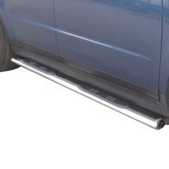 Oval Tube Side Bars with Steps 76mm SS Mach for Subaru Tribeca Mk2 (08 on)