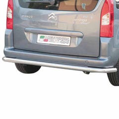 Rear Bar 76mm Stainless Mach for Citroen Berlingo Mk3 (08 on)