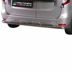 Rear Bar 63mm Stainless Mach for Dacia Dokker (12 on)