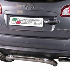 Rear Bar 76mm Stainless Mach Santa Fe Mk4 (10-12) PP1/273/IX