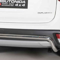 Rear Bar 50mm Stainless Mach for Outlander Mk6 (15 on)