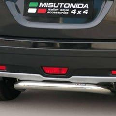 Rear Bar 76mm Stainless Mach Suzuki SX4 S-cross Mk3 (13 on)
