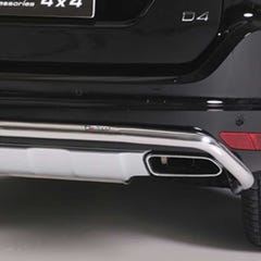 Rear Bar 50mm Stainless Mach for Volvo XC 60 Mk2 (14 on)