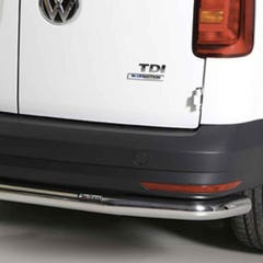 Rear Bar 63mm Stainless Mach for Volkswagen Caddy Mk4 (15 on)