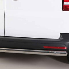 Rear Bar 63mm Stainless Mach for Volkswagen T6 (15 on)