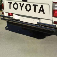 Rear Bar DOUBLE 63mm Stainless Mach for Toyota Hilux Mk5 (01-05)