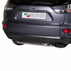 Rear Bar SINGLE 63mm Stainless Mach for Mitsubishi Outlander Mk4 (10 on)