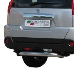 Rear Bar SINGLE 76mm Stainless Mach for Nissan X Trail Mk3 (08-10)