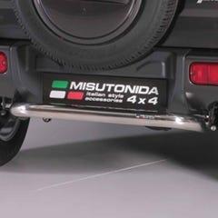 Rear Bar SINGLE 63mm Stainless Mach for Suzuki Jimny (12-18)