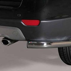 Rear Bumper Protection 63mm Stainless Mach for Chevrolet Captiva (2011-13)