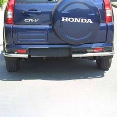 Rear Corner Protection 50mm Stainless Mach for Honda CR-V Mk2 (00-05)