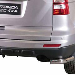 Rear Bumper Protection 63mm Stainless Mach for Honda CRV Mk5 (10 on)
