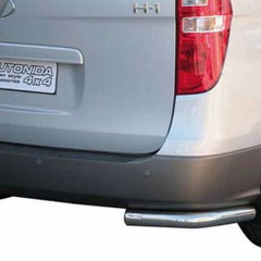 Rear Corner Protection 63mm Stainless Mach for Hyundai H1 (08 on)