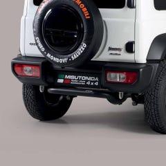 Black 63mm Rear Protection Bar Suzuki Jimny (2019 Onwards)