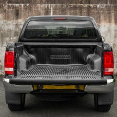 Truckman Low-Slip Over Rail Bedliner,Tailboard, Fit Kit VW Amarok Mk1 (10-16) DC