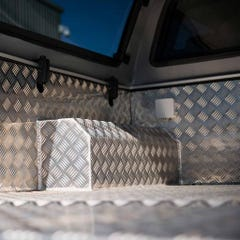 Aluminium Full-Chequer Plate Bedliner Under Rail Ranger Mk5-6 (12 on) DC