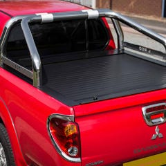 S/S 76mm Roll Bar For Truckman Tonneau Cover L200 Mk8-9 (15 on) DC