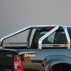 Roll Bar SINGLE 76mm SS Rodeo Name Plate Mach for Isuzu Rodeo/D-Max