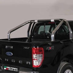 Roll Bar DOUBLE 76mm Stainless Mach Ranger Mk5 (12 on)