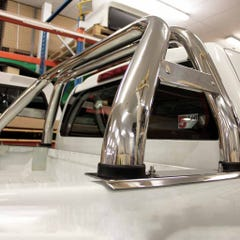 Stainless Steel Oval Roll Bar 76mm D-Max Mk4-5 (12-20)
