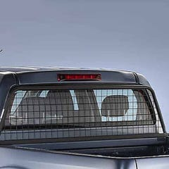 Ladder Rack and Window Protector Aluminum NP300 All Cabs (08 on)
