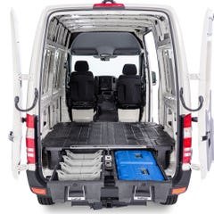 Decked Twin Drawer System for Ford Transit Mk8 (14 On) Wheel Base 3579MM L3&L4