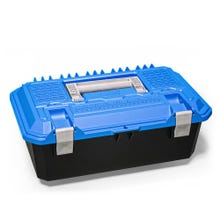 Decked Crossbox Drawer Tool Box (Small) Blue Lid