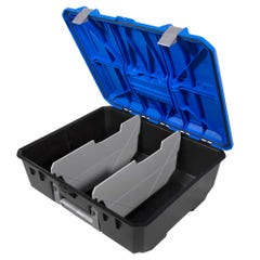 Decked D-Box Drawer Tool Box (Large) Blue Lid