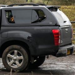 Truckman GLS Hardtop R/lock Roof Bars D-Max Mk 4-5 (12-20) Double Cab
