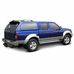 Truckman S-Series Remote Hardtop Navara / D22 (98-05) Double Cab