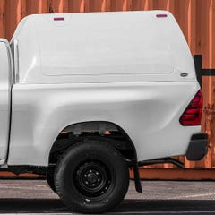 Truckman Classic Hardtop Canopy (Solid Rear) Toyota Hilux Mk8-9 (2016 Onwards) Extra Cab