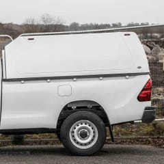 Truckman Classic Hardtop Canopy (Solid Rear) Toyota Hilux Mk8-9 (2016 Onwards) Single Cab